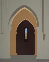 Chapel of Monte Siepi from Abbey of San Galgano, Italy 2004