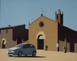 Church of Santa Maria, Monteriggioni, Italy 2004